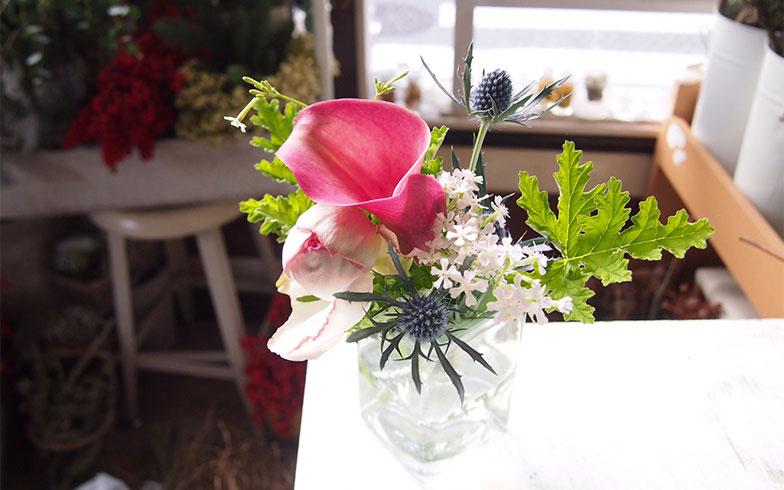 ちょっと珍しいお花は、部屋をセンスアップしてくれそう(画像提供/株式会社Crunch Style)