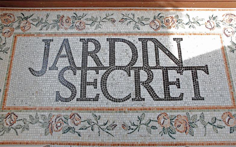 「JARDIN SECRET(ジャルダン・スクレ)」命名したのは、フランス語も堪能な渡辺会長のお嬢様(トーヨーキッチンスタイル取締役)(写真撮影/糠澤武敏)