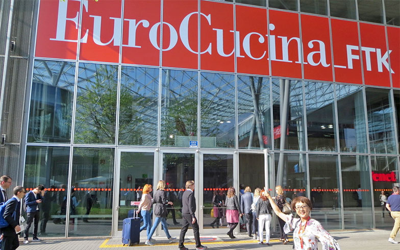 【EuroCucina(ユーロクッチーナ)】には世界から111社が出展。【FTK】と呼ばれる設備機器メーカー47社の見本市も併催(写真撮影/藤井繁子)