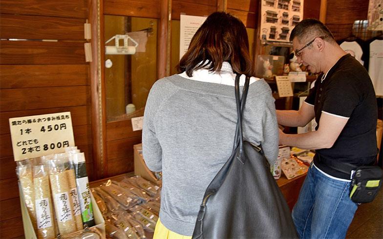 鰹節などの乾物を販売する中市本店(写真撮影/小野洋平)