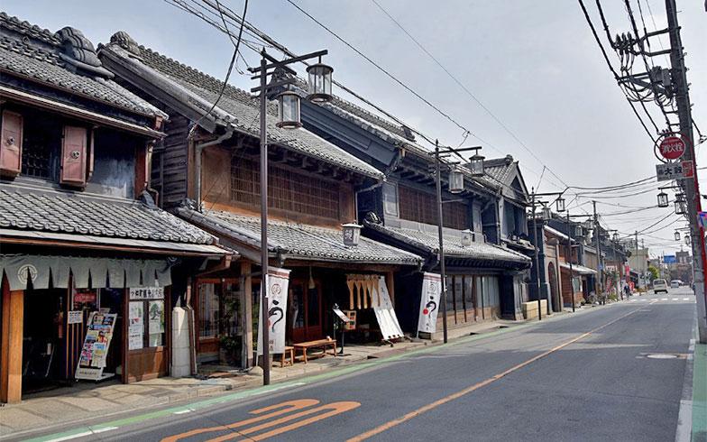 一番街を中心とした一帯は「重要伝統的建造物群保存地区」に選定されている(写真撮影/小野洋平)