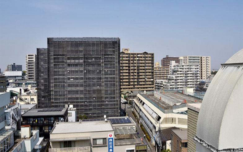 川越駅前のマンション群(写真撮影/小野洋平)