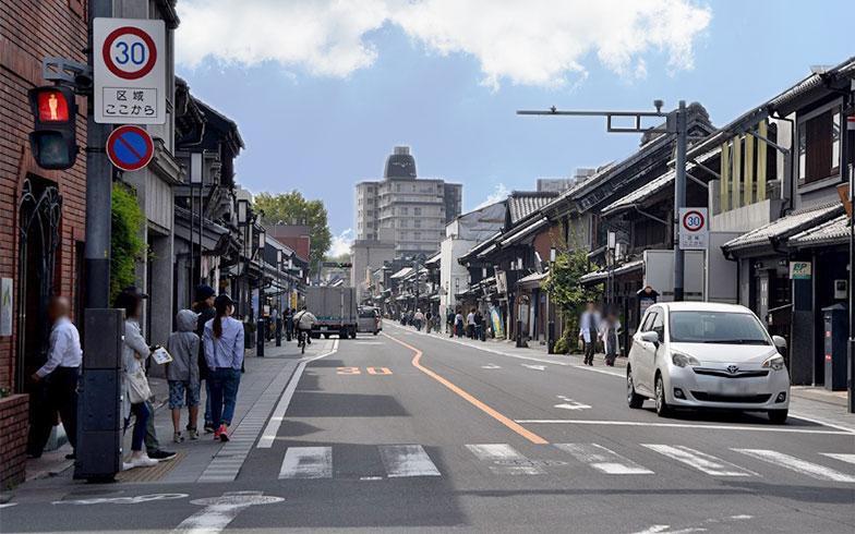 最近の一番街は平日でも観光客でにぎわいを見せる(写真撮影/小野洋平)
