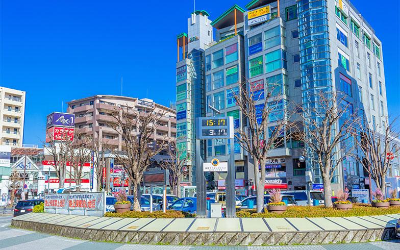 朝霞台駅 北口駅前(写真/PIXTA)