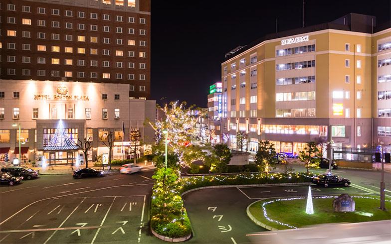 草津駅前ロータリー(写真/PIXTA)