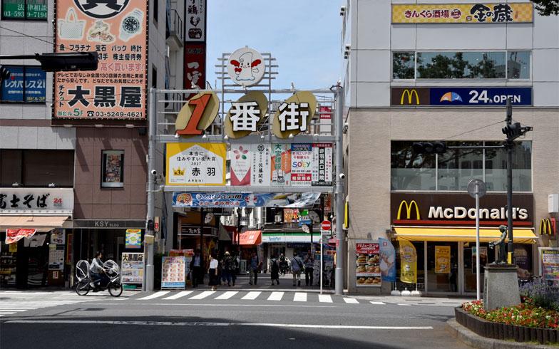 赤羽を代表する飲み屋ストリート「一番街」(写真撮影/小野洋平)