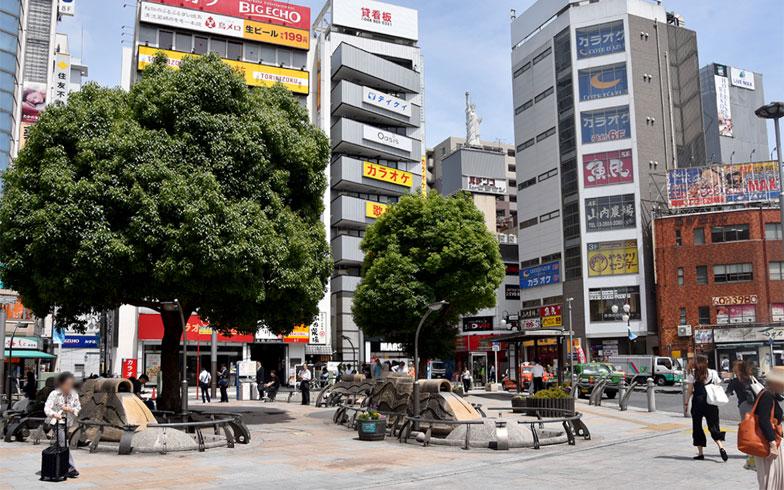 赤羽駅東口駅前(写真撮影/小野洋平)
