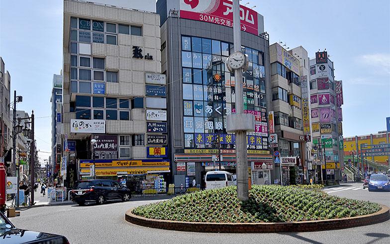 浦安駅南口(写真撮影/小野洋平)
