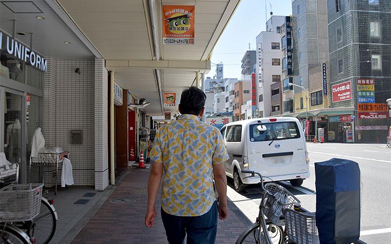 調理道具などを取り扱う店舗が並ぶ合羽橋(写真撮影/小野洋平)