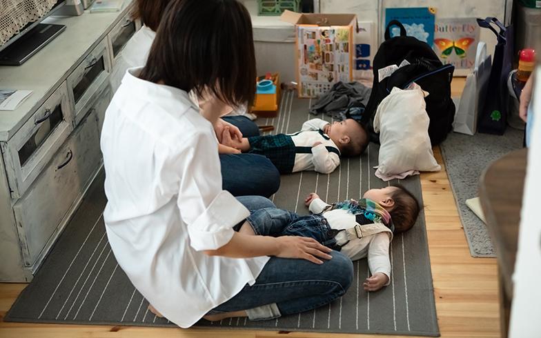 取材当日は親子フォト撮影の日。取材の間も3組ほどの親子が訪れていた(写真撮影/片山貴博)