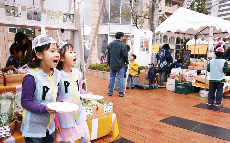 地域の子ども向けイベントの様子(写真提供/三井不動産)
