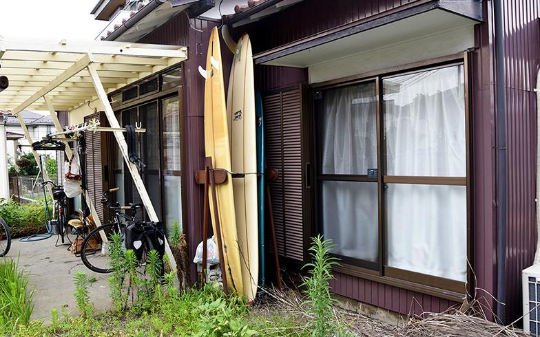 サーフボードは7枚所有(写真撮影/小野洋平)