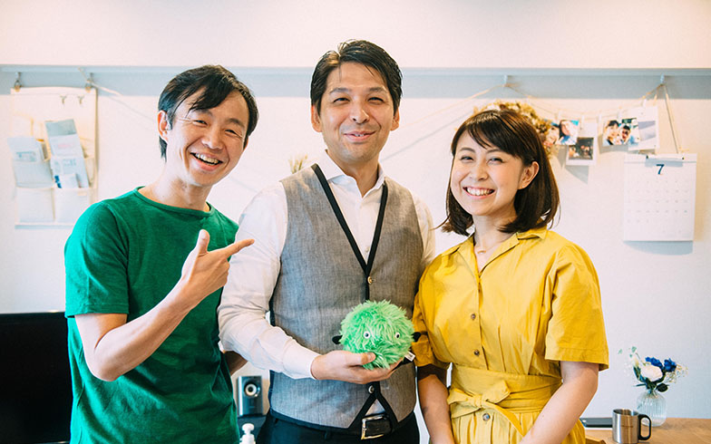 取材中、息の合った掛け合いを見せたSさん夫婦と後藤さん。まさしくパートナーという言葉がふさわしい関係性でした(写真撮影/土田凌)