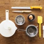 料理家のキッチンと朝ごはん[1]後編 主役は調理実習台。道具・器は長く使えるいいものだけを集めた