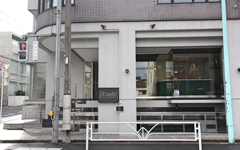 もともとは日本茶販売店の自社ビル。地下にコワーキングスペース、1階に銭湯とバーがある(写真撮影/SUUMOジャーナル編集部)