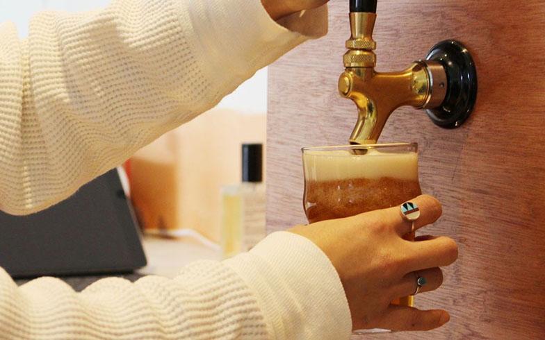 2017年、高円寺にオープンした人気のクラフトビール店、「アンドビール」とコラボして開発したもの(写真撮影/SUUMOジャーナル編集部)