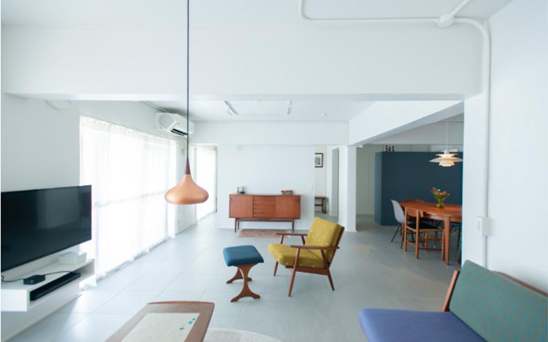 「4年暮らしたデンマークで集めたお気に入り家具をゆったり置けること」がデザインテーマ(画像提供/株式会社水雅)