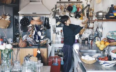 料理家のキッチンと朝ごはん[3]前編 旅する気分で料理する。口尾麻美さんのトルコ風朝ごはん