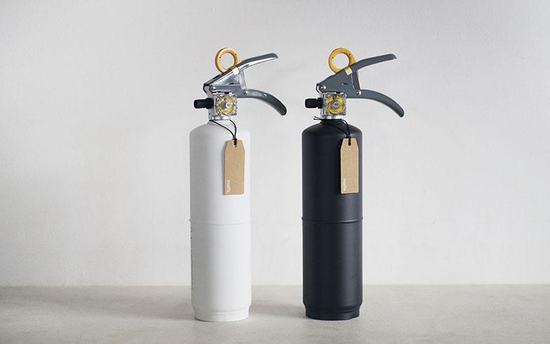 """防災をライフスタイルにする「+maffs(マフス)」の住宅用消火器。""""防災は愛情""""をデザインに"""
