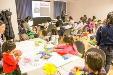 「防災ママカフェ」に子どもも一緒に参加(画像提供/スマートサバイバープロジェクト(SSPJ))
