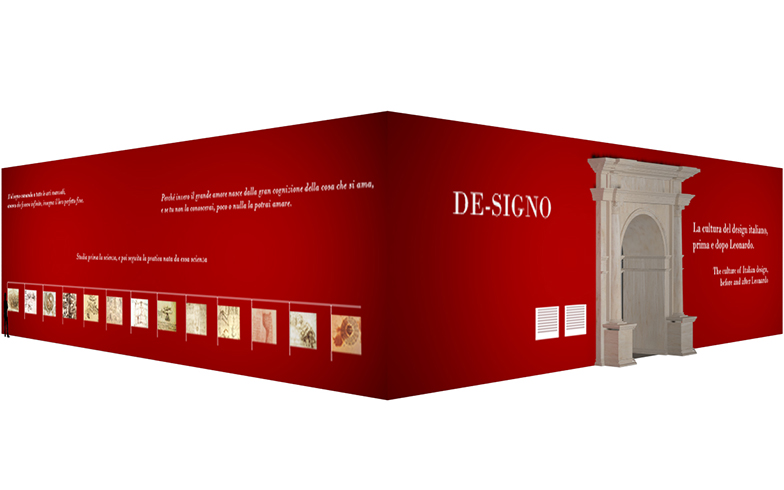 〈DE-SIGNO〉4月9日(火)~14日(日) 9:30~18:30 @Rho Fiera Milano (ミラノ国際見本市会場) ホール24。映画館のような4つの大型スクリーンで、美しいイタリアの文化が映像と音楽に乗って語られるショー(写真提供:ミラノサローネ)