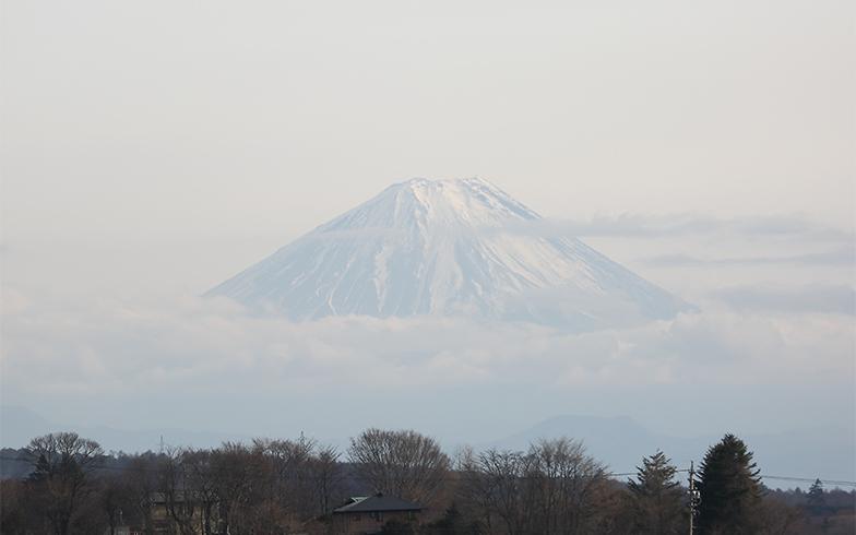 運転していると東南方向には富士山も(写真撮影/飯田照明)