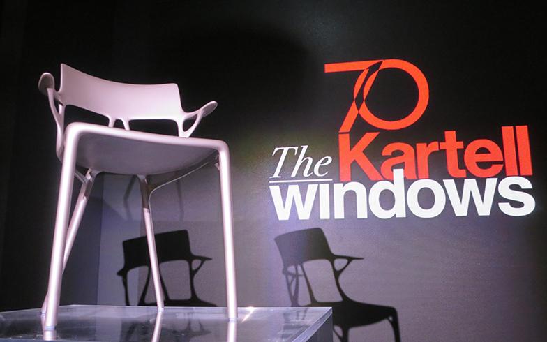 『AIデザインの椅子』3D 技術を使ったデザイン・設計ソフトのAUTODESK社(米国)とコラボ(写真撮影/藤井繁子)