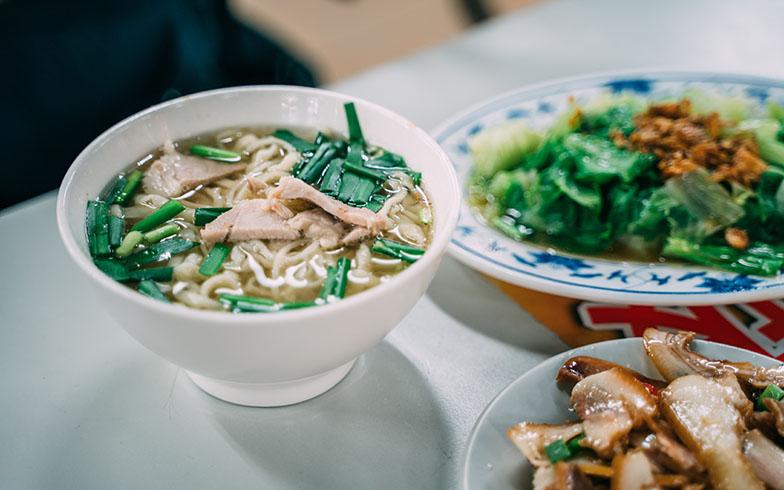 家から近い、永楽市場内の麺の店がヒッキーさんのお気に入り(写真提供/KRIS KANG)