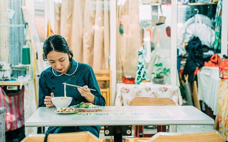 基本的に夜は自炊、昼は外で食べることも(写真提供/KRIS KANG)