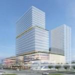 「高崎駅」東口再開発。画像:野村不動産