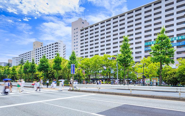 高島平駅の駅前(写真/PIXTA)