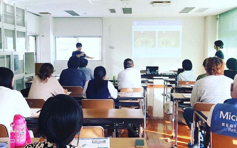イベント「2018観光フォトライター講座」の様子(写真提供/奄美市)