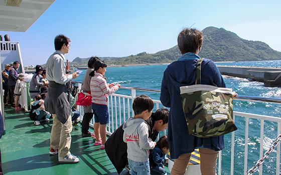 ジオクルーズの様子(写真提供/姫島ITアイランド運営事務局)