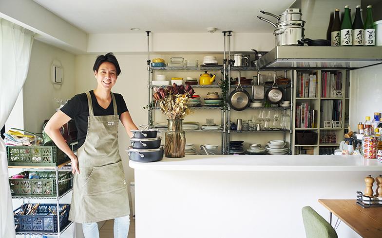 料理家のキッチンと朝ごはん[4]前編 アスリート料理家・YOSHIROさんの筋肉をつくるスクランブルエッグ