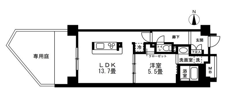 YOSHIROさんの家の間取り