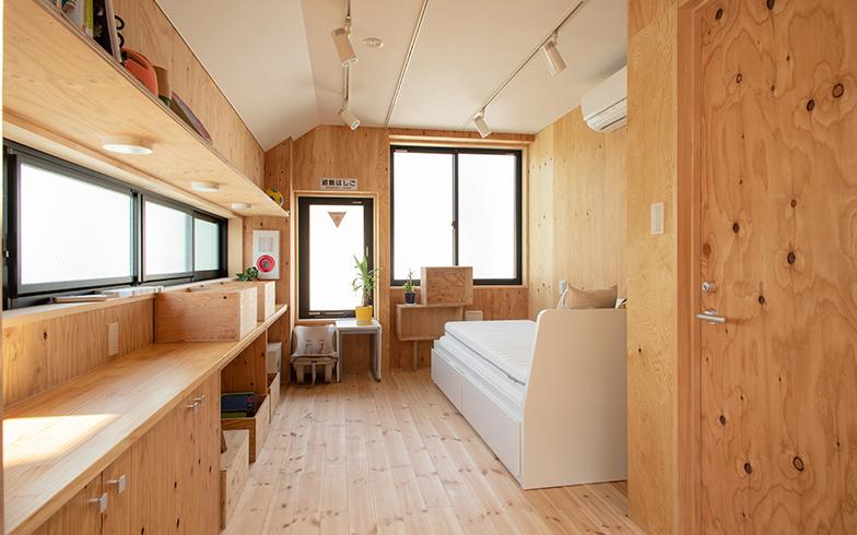 民泊として貸し出す予定の部屋(撮影/片山貴博)