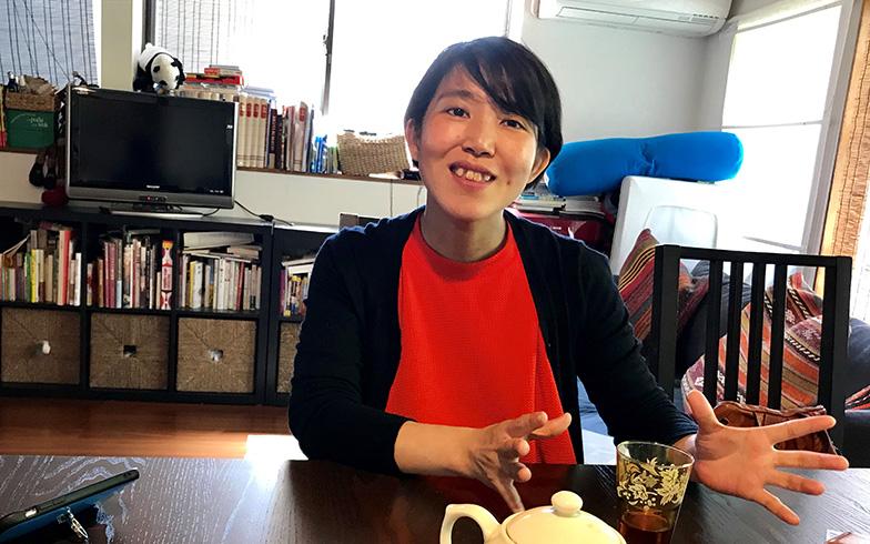 調理法などについて語る志麻さん(写真撮影/富谷瑠美)