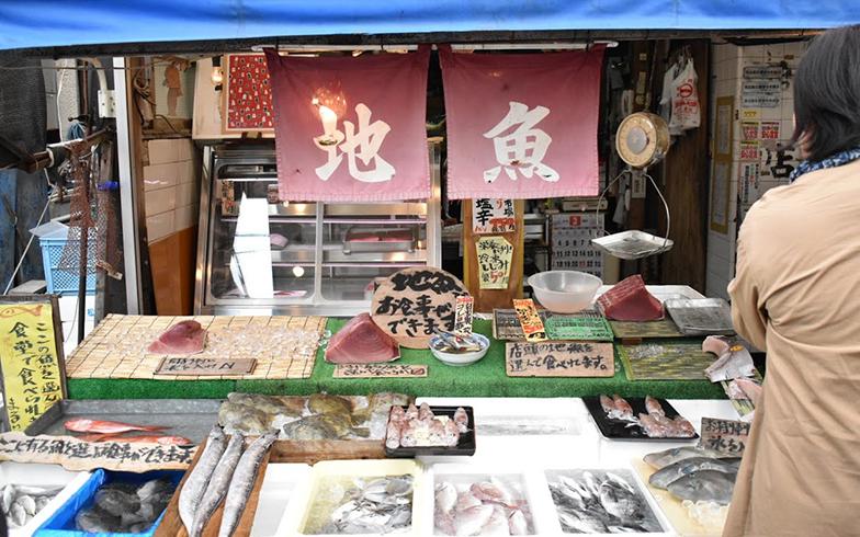 扱う魚のほとんどは三崎港で水揚げされたもの。すべて量り売りで販売してくれるのもうれしい(撮影/相馬ミナ)