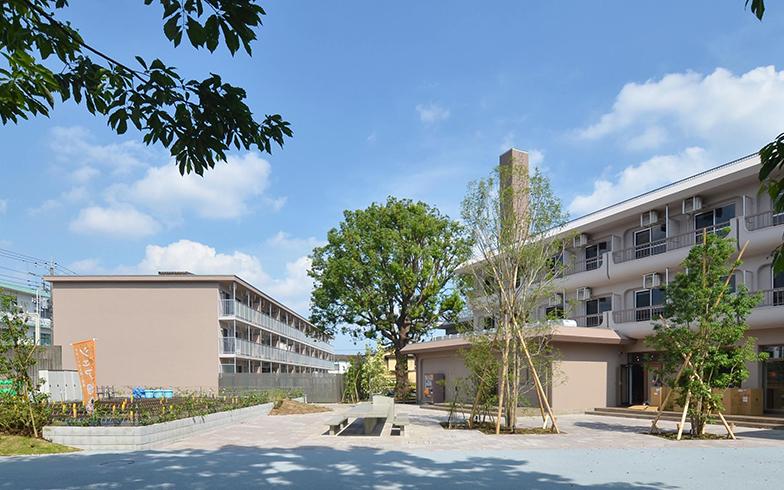 """JR東日本の社宅と寮をリノベーション。""""まちのホーム""""「リエットガーデン三鷹」"""