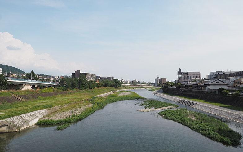 京都を南北に貫く、京都人の心のよりどころ、鴨川(写真撮影/吉村智樹)