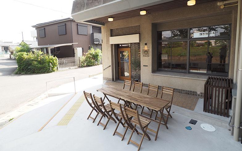 併設された「Cafe & Restaurant Odashi」(写真撮影/吉村智樹)