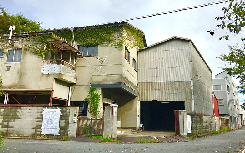 かつては倉庫として使われていた建物(画像提供/THEATRE E9 KYOTO)