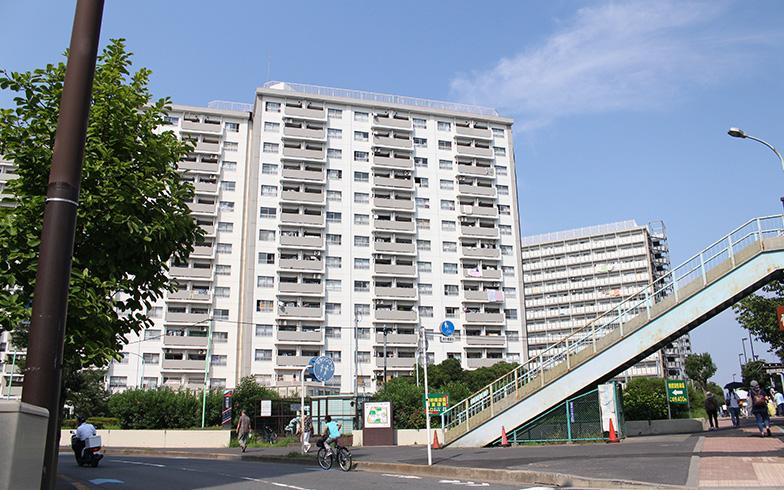 1975年に入居開始した全6棟、2769戸のマンモス団地(写真撮影/SUUMOジャーナル編集部)