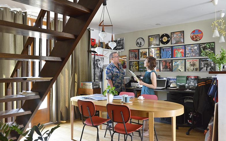 パリの暮らしとインテリア[2]アクセサリーアーティストが家族と暮らすアトリエ付きの一軒家
