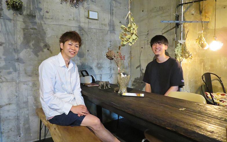 左が佐藤氏、右が追沼氏(写真撮影/介川亜紀)