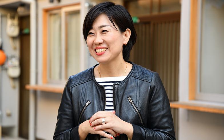 日本学術振興会特別研究員の葛西リサさん(撮影/水野浩志)