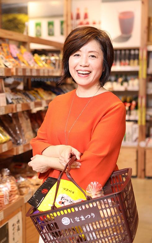 「スーパーマーケット研究家」の菅原佳己さん(写真提供/菅原佳己さん)