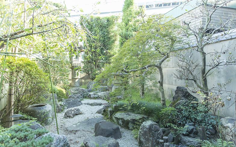 格子戸に趣のある庭園と、京都らしいステキな日本家屋(写真撮影/中島光行)