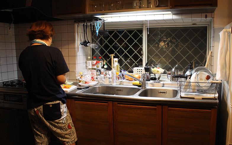 Tさんが手料理をふるまってくれました(写真撮影/SUUMOジャーナル編集部)