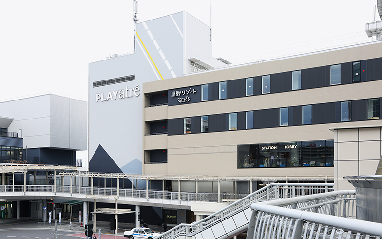 駅直結の「PLAYatré TSUCHIURA」は、市外からの玄関口になっている(写真撮影/相馬ミナ)
